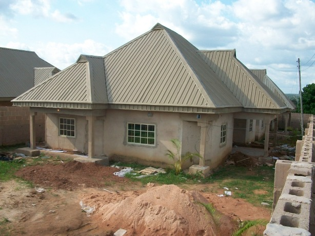 2nos 3-Bedroom detached bungalow @ thinkers corner by old airport road, emene, enugu - N15M
