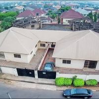 Residential development comprising semi detached bungalow apartments gated separately within Zoo Estate, G.R.A., Enugu