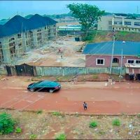 Twin bungalow apartments on 1,721 square metres of land at Independence Layout, Enugu. Price: N70million