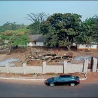 Choice stately landed property on a large parcel of land for sale in G.R.A, Enugu. Price; N170million